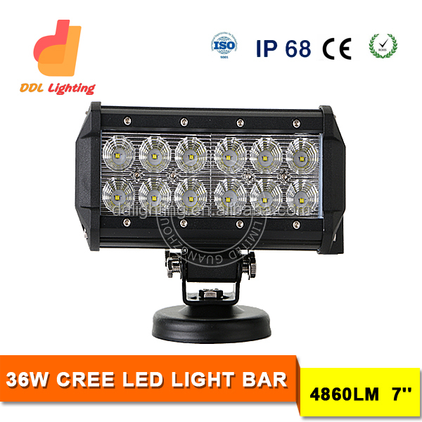 2016 36w head lamp crees 4x4 offroad wholesale led light bars off road