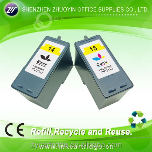 printer ink cartridge for Lexmar 14&15