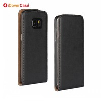S7 Edge Etui Coque Capa Fundas Wholesale Flip Cover Mobile Phone Leather Case for Samsung Galaxy S7 edge G935F