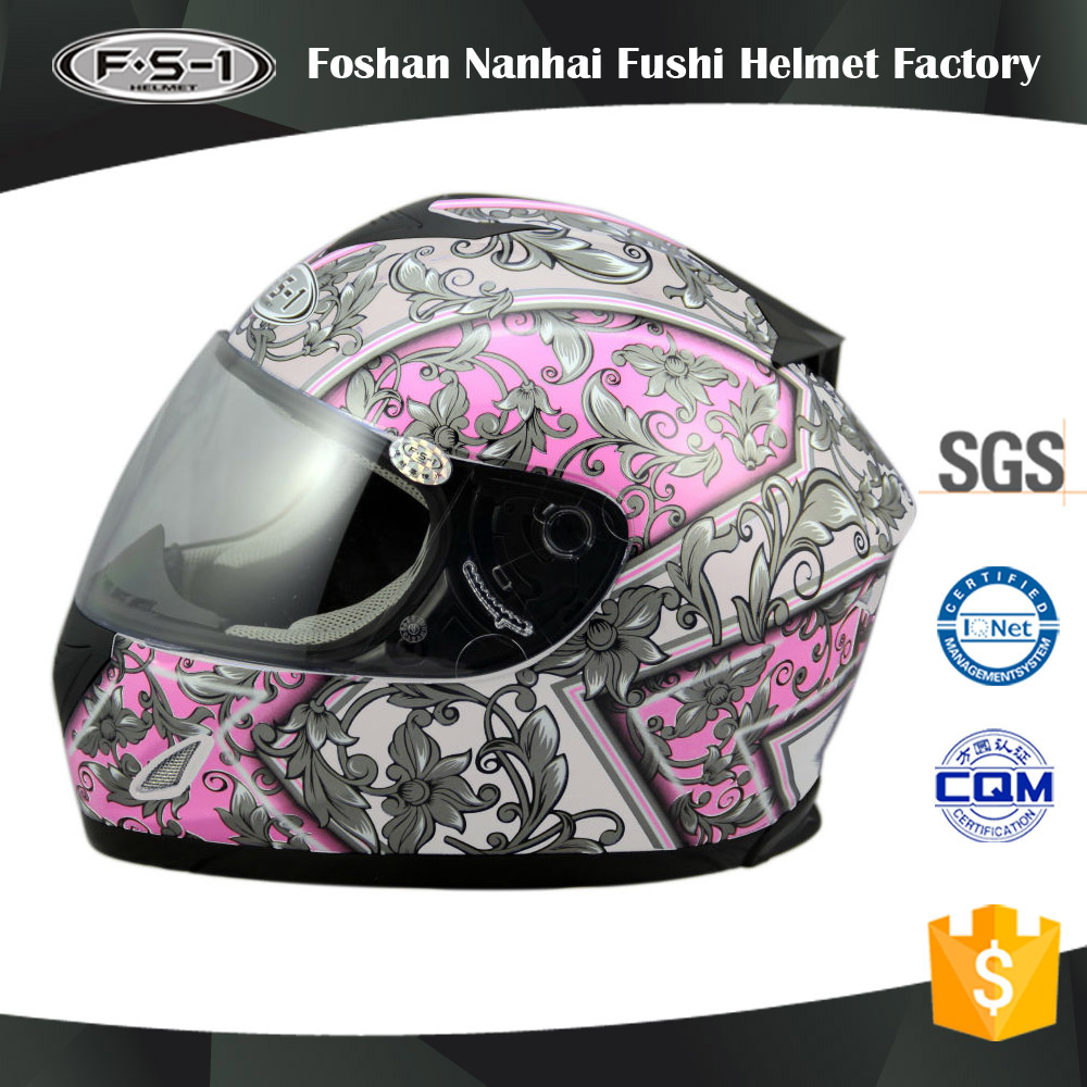 Full Face Helmet Type and PC visor ABS or PP shell / ABS OR PP Material Motorcycle Helmet
