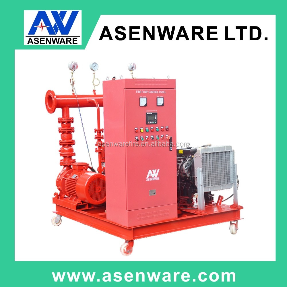 Fire jockey pump system with controller for industrial plant / shopping mall / hotel / apartment
