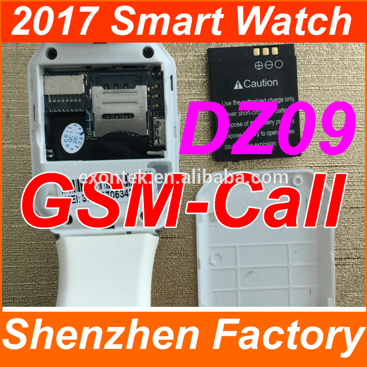 2017 Wholesale Hot sell GSM SIM touch screen mobile watch phone GSM SIM factory unlocked cell phones high quality