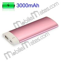 High Quality 3000mAh Portable Mobile Power Bank for Apple Samsung Sony Eicsson LG Nokia PSP