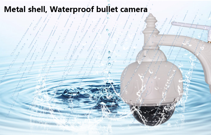 Bottom Price 1 Meagpixel Wifi P/T IP Speed Dome Camera Easy To install P2P