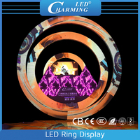 LED Circular/Ring Entertainment Display Screen For Stage/Night Club