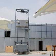 Trackless BMU for glass maintenance