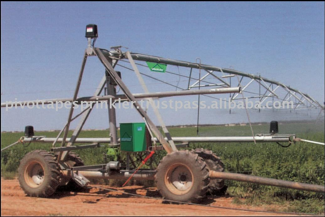 Urapivot lateral hose-fed move irrigation machine