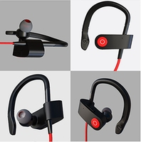 2016 New arrival wireless bluetooth headset in-ear style earphone, headphone bluetooth for mobile phone
