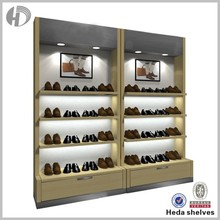 Beat selling western style retail shoe rack display