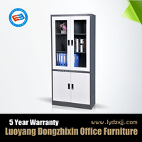 High quality glass door metal hospital cabinet