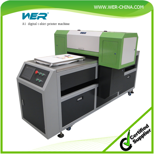 Cheap price a1 wer ep4880t digital t shirt printing for Cheapest t shirt printing machine