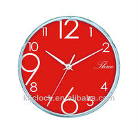 Clock Promotional WH-6720B Red Dial Design