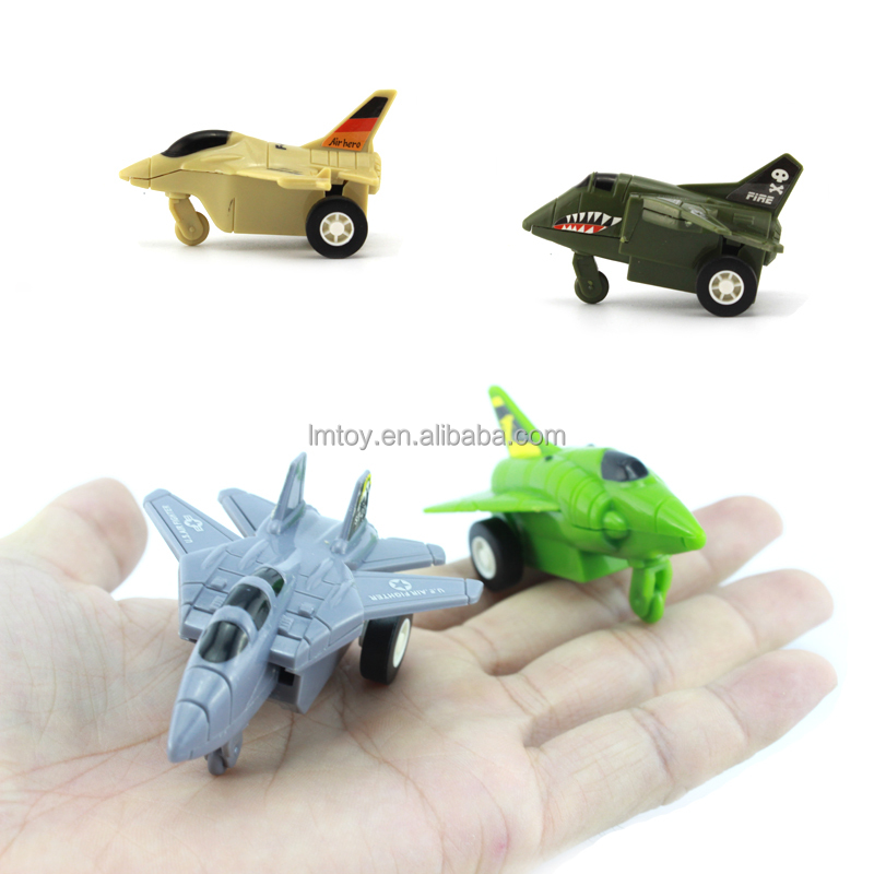 2017 cheap wholesale ABS small mini plastic material toy airplane supplier