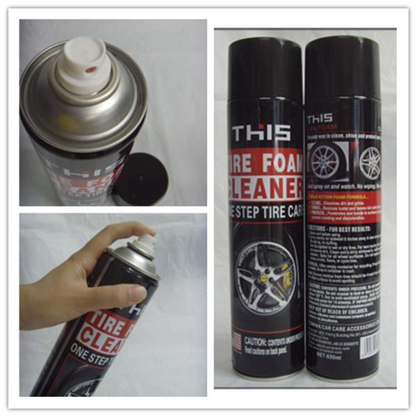 Détaillant de voiture lavage de voiture sans eau et tire wax polonais humides pneu pansement en mousse applicateur tire shine