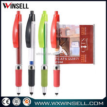 Cheap price promotional banner ball pen