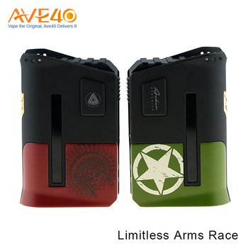 Ave40 Newest Electronic Cigarete Limitless Arms Race with 200W Box Mod in Wholesale