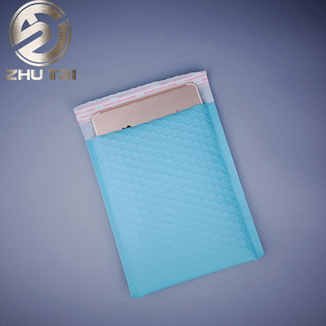Colorful air bag me metallic bubble mailer envelope Import new material waterproof