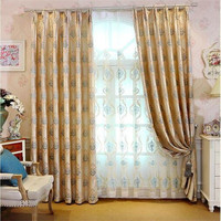 china suppliers online shopping fabrics textiles curtain blinds with yarn