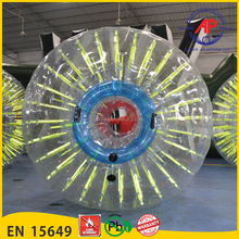 2016 Airpark human hamster ball,Cheap price grass zorbing ball, durable Inflatable Zorb Ball for sale