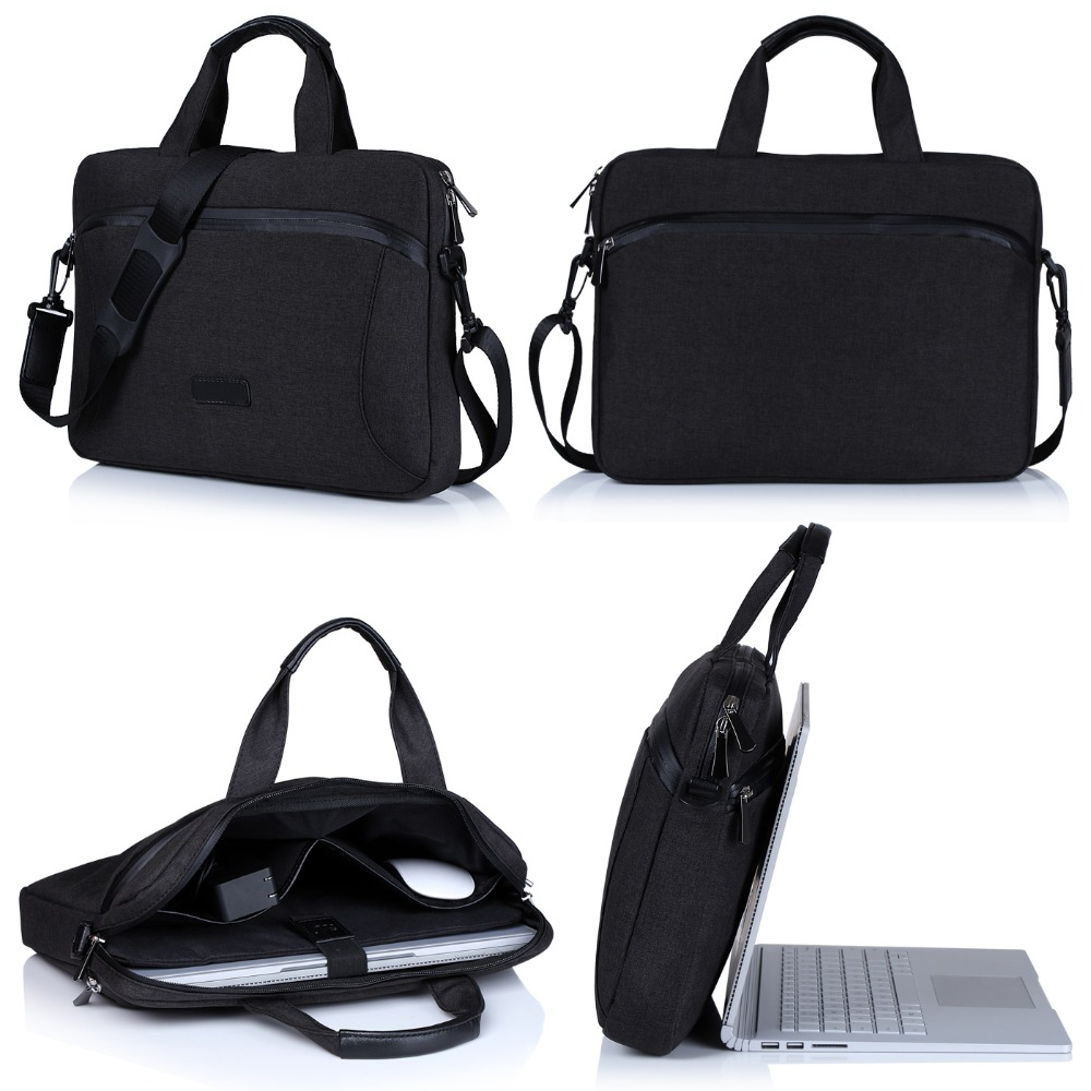 Factory Custom 13.5 inch Laptop Bag Waterproof Document Case With Wide Strap