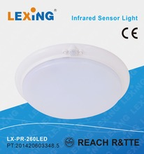 ultra thin ceiling led infrared sensor lamp