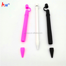 Customized Hot selling Silicone replacement cap & Protective Cap Holder For Apple iPad Pro Pencil