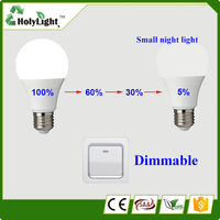Free sample! 5 watt led bulb high quality & low price dim LED Lighting Bulb PC cover E27 lamp holder 2 years warranty