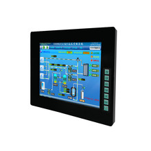 Xingtac 17 inch industrial human machine interface touch screen TFT LCD table <strong>monitor</strong> with 12v dc input FPM-6170-T