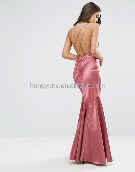 Sexy evening dress wholesale custom make fishtail wedding dresses for women