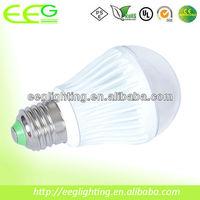 5W LED Bulb/5w led bulb light/IP65, dimmable range 5%-100%, 500lm, CRI>80, 3 years warranty
