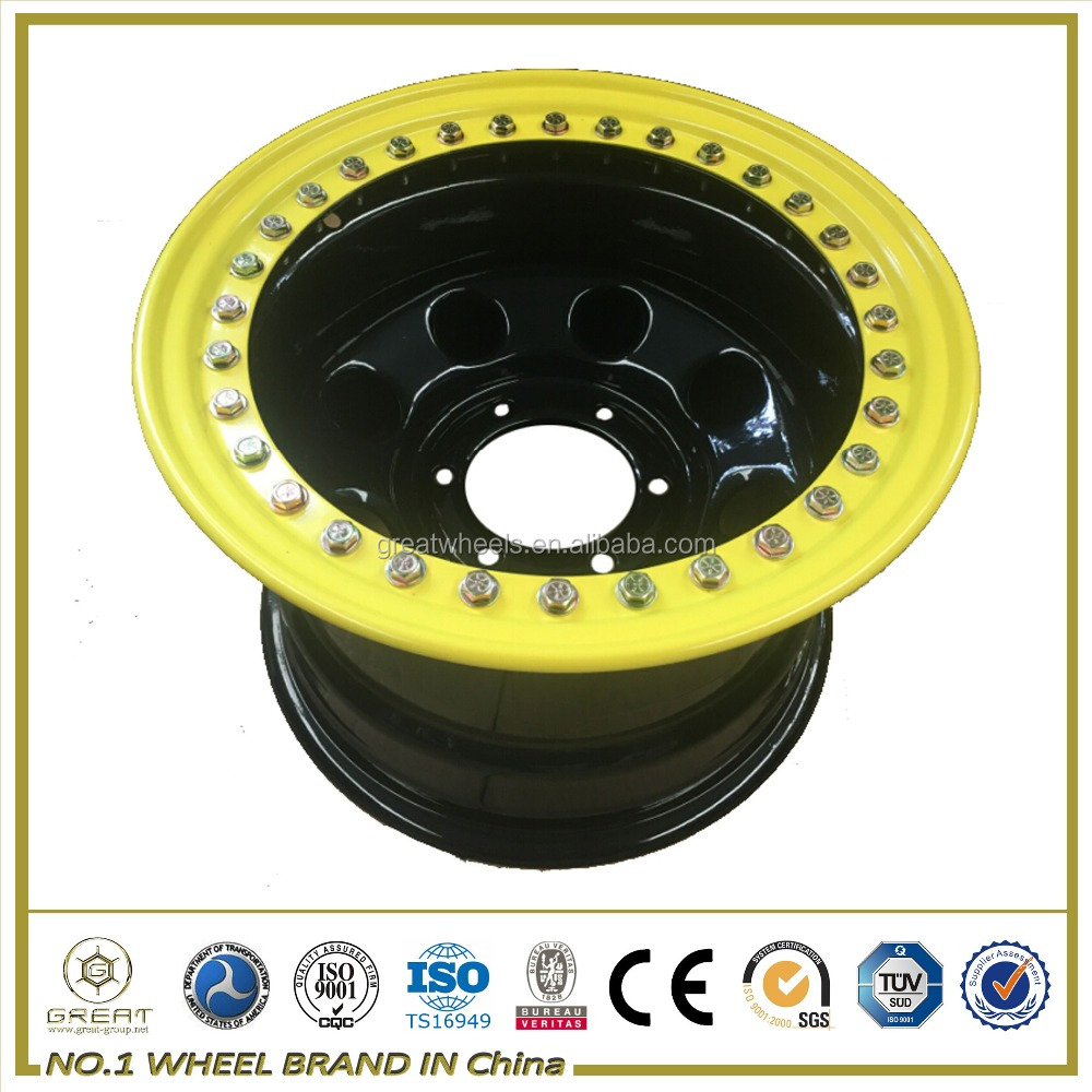 Genuine Beadlock steel car wheel