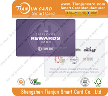 Customized PVC ID Business card supplier in china voter id card format
