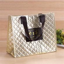 wholesale customized waterproof metal lamination non woven bag