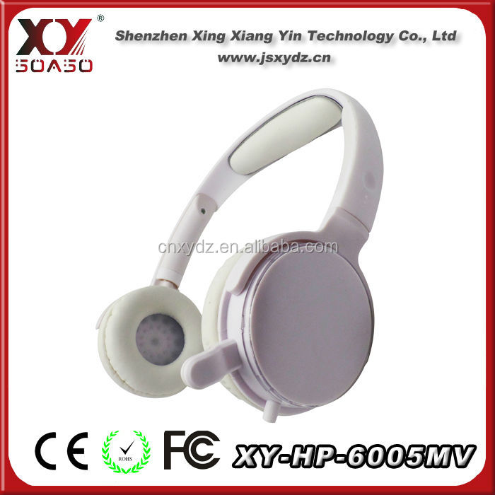 super sound game headphones stereo headsets fashionable earmuff headband for Desktop computer