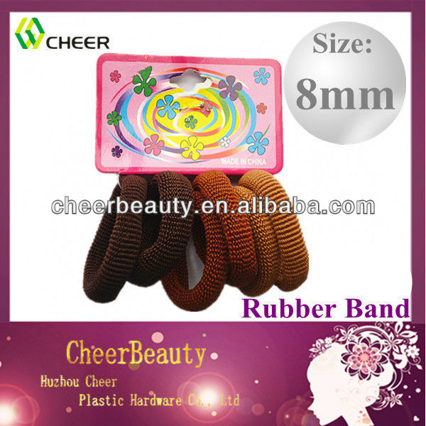 Hot sale new fashion rubber bands hair bands