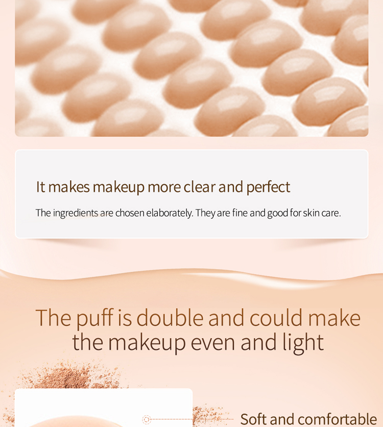 Pilaten Powdery bottom Correcting Make Up Cream Air cushion CC cream