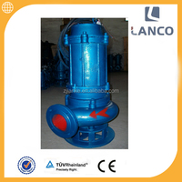 QW vertical centrifugal 1 inch deep well 10hp submersible pump
