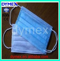 3 ply disposable medical face mask, surgical protective face mask