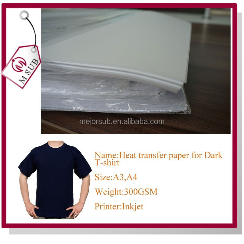 A4/A3 Inkjet Glow in the Dark Transfer Paper for Cotton Garment