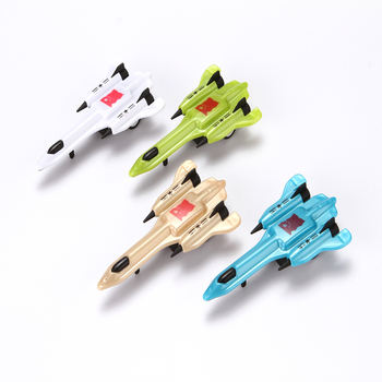 4 PCS Newest friction car toy pull back toys, 2018 friction China toy plastic cars, plane toys for kids
