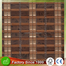 Bamboo wooden window roller blinds factory