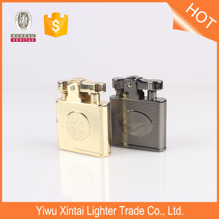 BCZ707-1 wholesale Metal COOL oil lighter with gift box