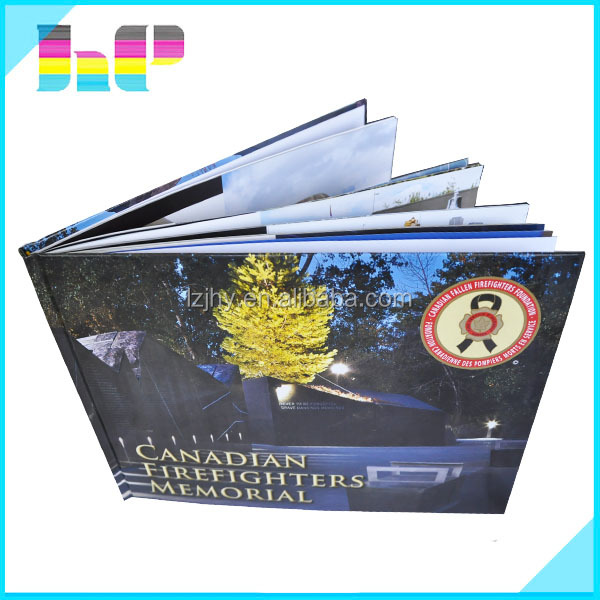 A4 hardcover book printing free sample/full color cheap book printing service
