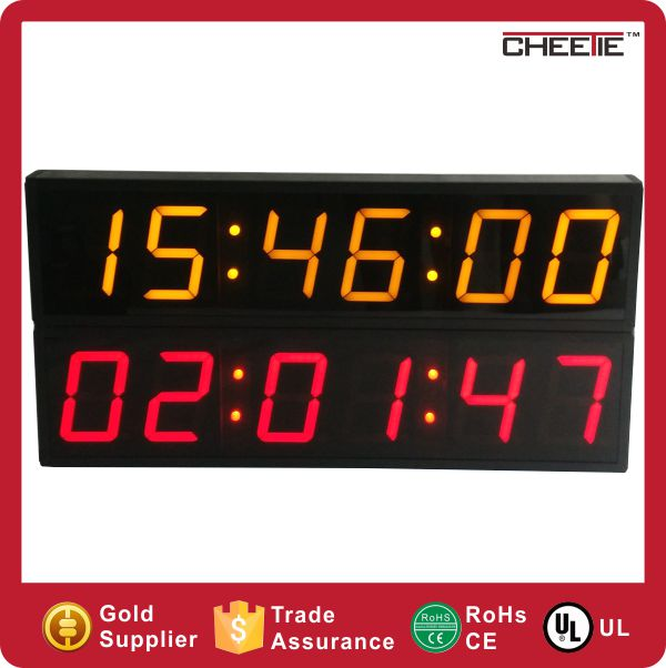 New Product Electronics Digital Wall Clock Large LED Countdown Clock