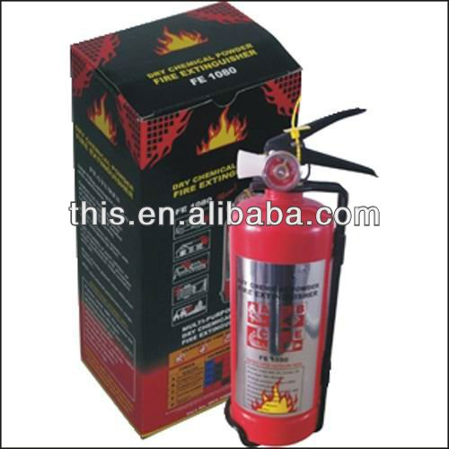 ISO9001 MSDS Portable Dry Chemical Powder Fire Extinguisher