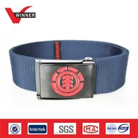 2014 Fashion polyester mens canvas belts
