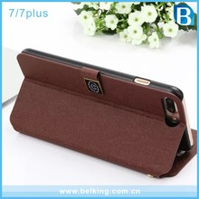 2016 Hottest Wallet Card Slot Phone Case for iPhone 7 7 Plus, For iPhone 7 Oracle Flip Leather Case Cover