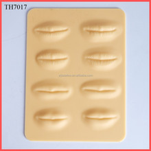 3D Real Soft Makeup Silica Sheet Lip Fake Tattoo Skin for Practice
