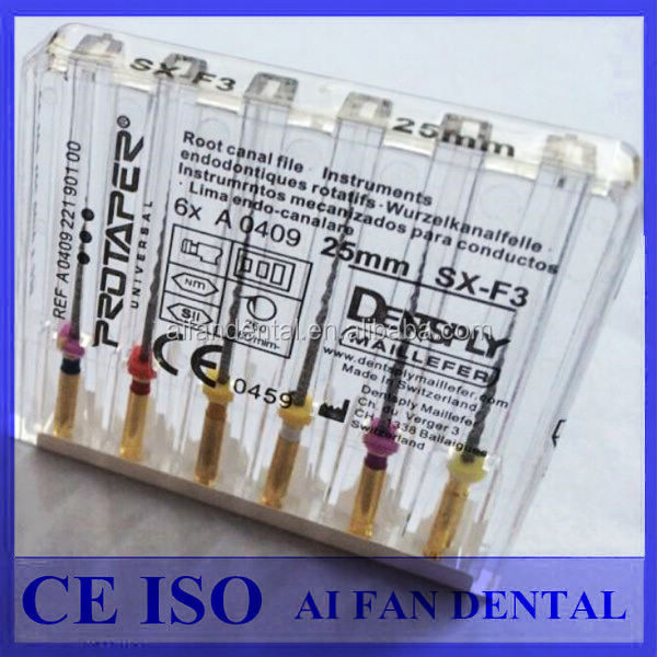 [ AiFan Dental ] Dentsply NiTi Rotary Endodontic File dental protaper files price dental endo files