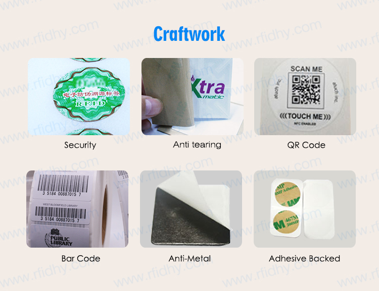 Wholesale Writable 13.56Mhz MIFARE DESFire RFID NFC Label